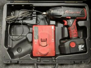 Snap on Cordless 18v Impact Driver W Battery Charger Ct4850ho Pre owned