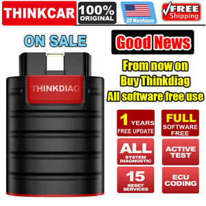Thinkdiag X431 Pro Bidirectional Full Software Free Obd2 Diagnostic Tool As V