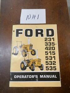 Ford 231 335 420 515 531 532 535 Tractor Operator s Manual