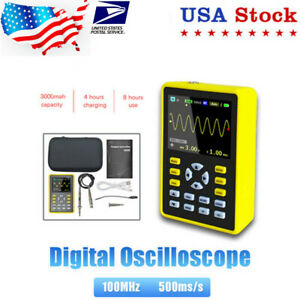 5012h Digital Oscilloscope 100mhz 500ms s Dso With 2 4 Inch Ips Lcd Screen Us