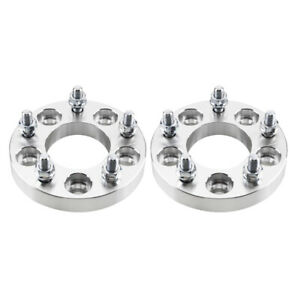 2 1 25mm 5x4 5 To 5x4 75 Adapter Wheel Spacers 12x1 5 For Ford Chevrolet Gmc