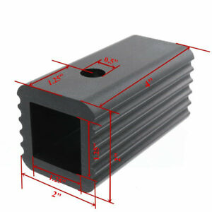 2 To 1 25 Trailer Receiver Hitch Adapter Insert Mount Sleeve Reducer Rack