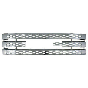 New Chrome Grill Grille Overlay For 2011 2012 2013 2014 Gmc Sierra 2500 3500