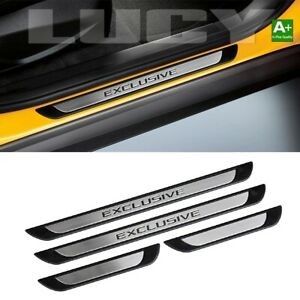 Door Sill Protector Entry Guard 4dr Exclusive S steel For Jeep Liberty 2002 2013