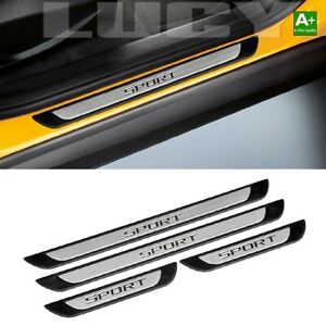 Door Sill Protector Entry Guard 4dr sport S steel For Jeep Liberty 2002 2013