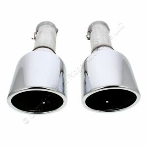 New Pair Oem Mopar Dual 5 7l Exhaust Tailpipe Tips For 2019 2021 Dodge Ram 1500