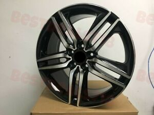 5x120 Accord Sport Style Black Machined Wheels 20x8 5 For Honda Odyssey