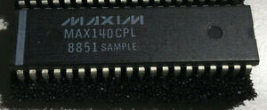 Maxim Max140cpl Led Display Driver 3 1 2 Digit Adc W reference