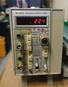 Tektronix Dc 505 A Universal Counter Timer And Tm501a Power Bank