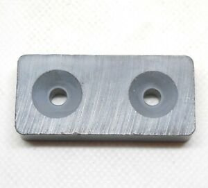 Mount Anywhere Ceramic Magnet 1 7 8 X 7 8 X 3 8 Ferrite 4 Pack Even To Wood