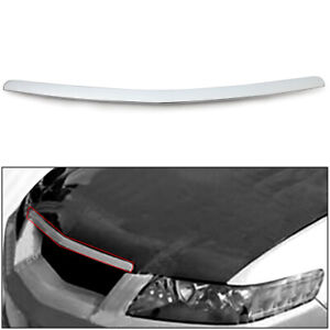 Chrome Hood Molding Trim Replacement For 2004 2005 04 05 Acura Tsx 4door 4dr