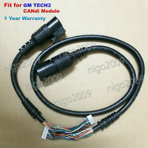 1pc New Gm Tech2 Candi Cables Fit For Tech 2 Candi Module 1 Year Warranty