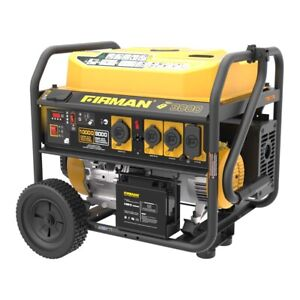 8000 10 000w Refurbished Firman Dual Fuel Generator Electric Start