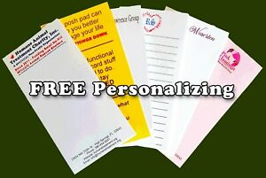 24 Mini Purse Pocket Size 30 Page Memo Notepads Free Personalizing Made In Usa