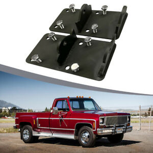 For Chevy Gmc 73 98 4 8l 6 2l Clam Shell Ls Engine Swap Conversion Mount Plates