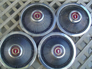 Vintage 1968 1969 1970 1971 1972 1973 Ford Galaxie 500 Ltd Hubcaps Wheel Covers