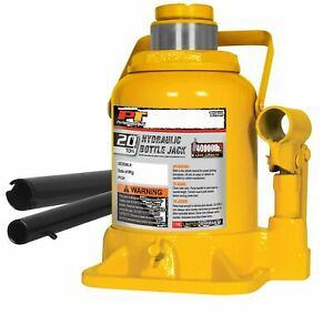 Performance Tool W1644 20 Ton Shorty Bottle Jack