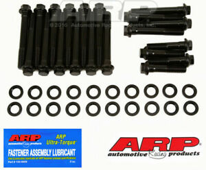 Arp 190 3607 Black Pontiac 1967 Later 350 455cid W d port Head Bolt Kit