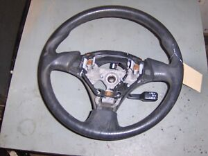 Toyota Mr s Corolla S Black Leather 3 Spoke Steering Wheel Oe fits 2008 Toyota