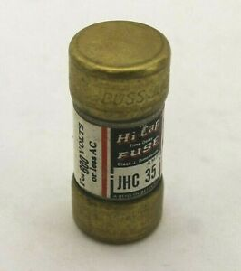 Bussmann Jhc35 Hi cap Fuse lot Of 3