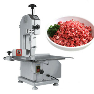 110v Commercial Electrical Frozen Meat Bones Saw Cutting Band Cutter Machine
