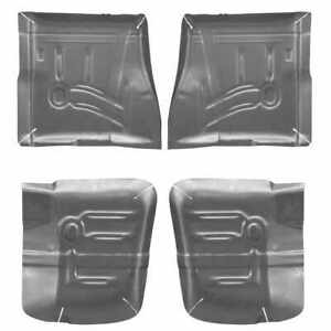 Front Rear Floor Pan Kit For 65 70 Chevy Impala Bel Air