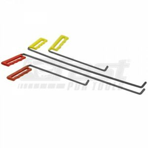 Brace Swords Set 6 Tools For Pdr Paintless Dent Repair Auto Body Rod