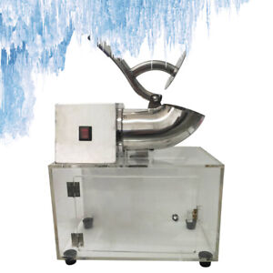 Commercial Snow Cone Machine Ice Shaver Ice Crusher Ice Blender Stainless Steel