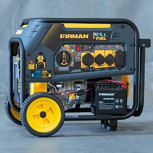 7500 9400w Refurbished Firman Dual Fuel Generator Electric Start