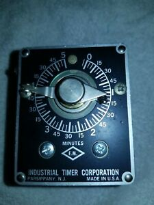 Singer Industrial Timer Corp Csf 5m Industrial Timer 5 Minute 115v Csf 5m