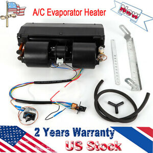 A C Kit Universal Underdash Evaporator 404 000 Heat And Cool