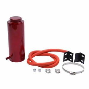 Red 800ml Universal Radiator Coolant Aluminum Catch Tank Overflow Reservoir
