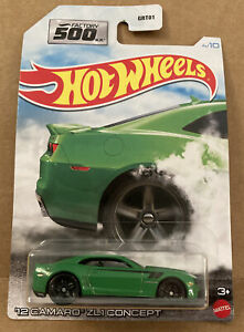 2021 Hot Wheels Factory 500 Hp Series 12 Camaro Zl1 Concept low Ship Cost