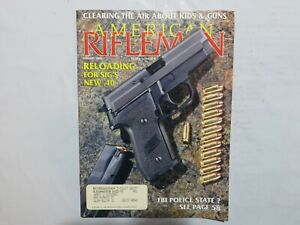 American Rifleman August 1993 Reloading for Sig#x27;s New .40 T9 $9.99