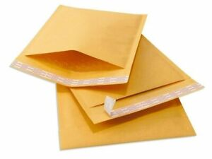 250 cd 7 25x8 Kraft Paper Bubble Padded Envelope Mailers Shipping Case 7 25 x8