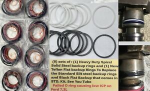 8 7 3l Powerstroke Injector External O Ring Kit With Heavy Duty Steel Ring