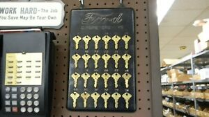 Model T Ford Tt Truck Original Dealers Keyboard With Complete Set Of Keys