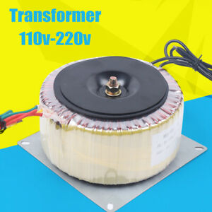 900w Toroidal Low Frequency Isolation Transformer Motor Stepper Driver 110v 60hz
