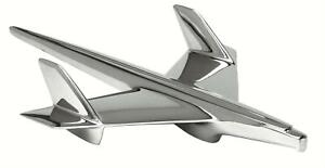 Danchuk 472 Hood Ornament Bird Chrome Stock Mounting 1955 Chevrolet Passenger Ca