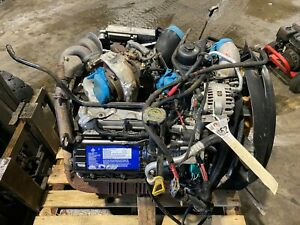 2003 Ford F350 F250 6 0l Powerstroke Complete Engine 185k Miles Au40652