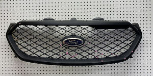 2013 14 15 16 17 18 2019 Ford Taurus Police Interceptor Black Grill Oem Damaged