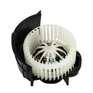 Hvac Blower Motor W fan Cage Front Abs Plastic For Audi Q7 Volkswagen Touareg