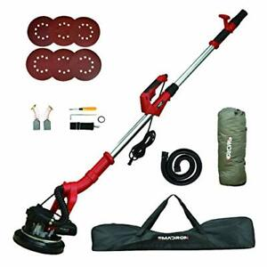 Drywall Sander 6a 750w Wall ceiling Sander With Vacuum System 800 1800rpm 7