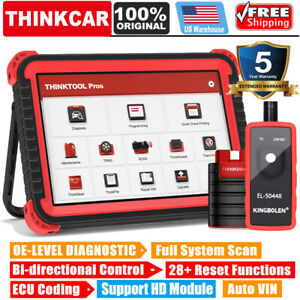 Launch Thinktool X431 Pros Obd2 Bidirectional Ecu Coding Diagnostic Tool As V