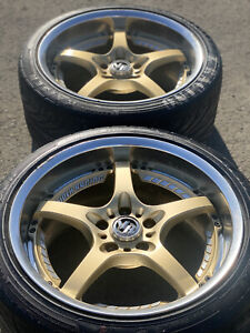Jdm Legendary Collapsible Forging Rays Volk Racing Sf Challenge R18 5 114 3