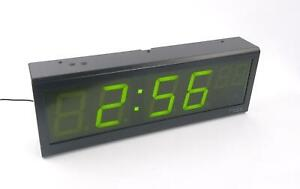 Spectracom Timeview Tv400w Display Clock 9177 0001 0600 Tested Working