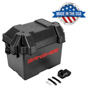 Snap Top Battery Standart Box Group 24 Automotive Marine Rv Camper Safely Stores