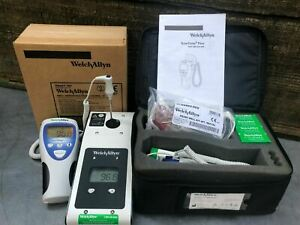 calibrated Welch Allyn Suretemp Plus 692 Thermometer Kit 01692 mc W 375 Cover