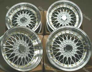 8 5 X 17 Silver Rs G S Alloy Wheels For Bmw 8 Series E31 Old Skool Mesh