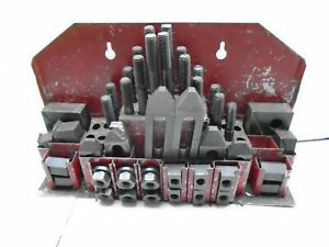 1 2 Stud Hold Down Clamp Clamping Set For Bridgeport Mill